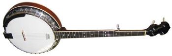 Picture of BANJO 5 CORDES Bluegrass STAGG deluxe 30 Tirants corps metal