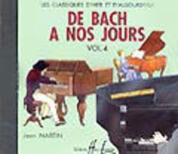 Image de CD DE BACH A NOS JOURS V4 Piano