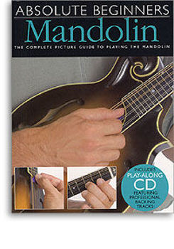 Picture of ABSOLUTE BEGINNERS MANDOLINE Book +CDgratuit