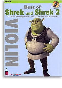 Picture of SHREK BEST OF AND SHREK 2 Violon BK+CD