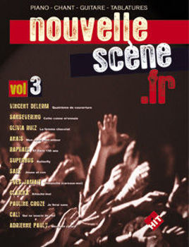Picture of NOUVELLE SCENE FRANCAISE VOL3 Piano Chant Guitare tablature