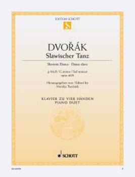 Image de DVORAK A DANSE SLAVE N8 Piano