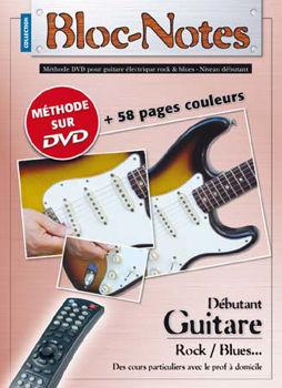Picture of BLOC NOTES GUITARE ELECTRIQUE METHODE TAB+DVD(gratuit)