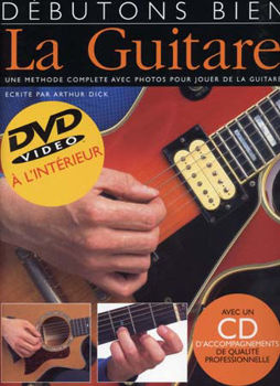 Picture of DEBUTONS BIEN GUITARE TAB DVD +CDgratuit