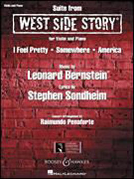 Picture of BERNSTEIN SUITE FROM WEST SIDE STORY Violon et Piano
