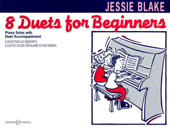 Picture of BLAKE JESSIE DUETS FOR BEGINNERS PIANO 4 Mains