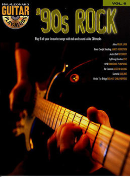Picture of Guitare Play Along VOL6 90S ROCK BK/CD