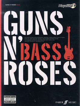 Picture of GUNS N ROSES AUTHENTIC PLAYALONG BASSE GUITARE
