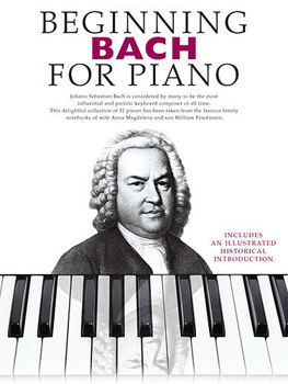 Picture of BEGINNING BACH FOR PIANO Solo Facile