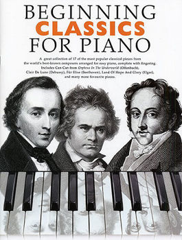 Picture of BEGINNING CLASSICS FOR PIANO Solo Facile
