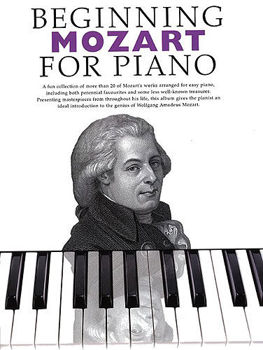 Picture of BEGINNING MOZART FOR PIANO Solo Facile