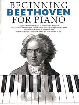 Picture of BEGINNING BEETHOVEN FOR PIANO Solo Facile