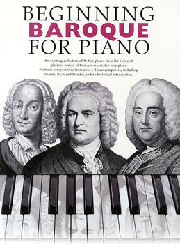 Image de BEGINNING BAROQUE FOR PIANO Solo Facile