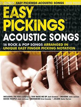 Image de EASY PICKINGS ACOUSTIC SONGS Guitare Tablature WESTON