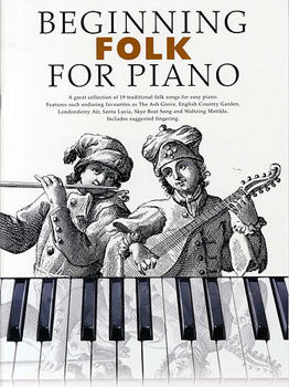 Picture of BEGINNING FOLK FOR EASY PIANO Solo Facile