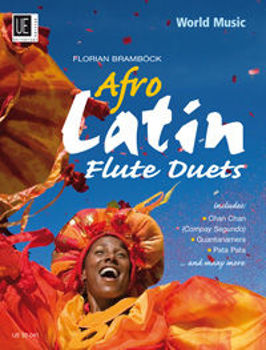 Picture of AFRO LATIN FLUTE DUOS Flutes Traversieres
