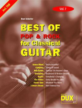 Image de BEST OF POP & ROCK V7 for classical guitare