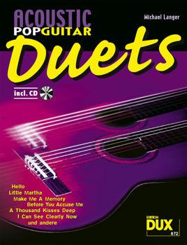Picture of ACOUSTIC POP GUITARS DUETS duos guitare classique +CD gratuit