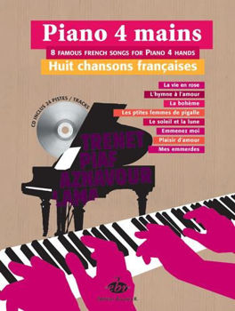 Picture of 8 CHANSONS FRANCAISES Piano 4mains +CD