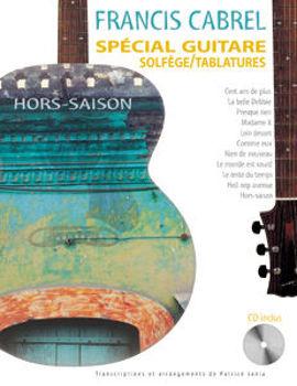 Image de CABREL HORS SAISONS Guitare Tablature  +CDgratuit