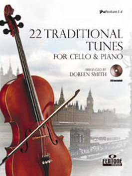 Picture of 22 TRADITIONAL TUNES DOREEN VIOLONCELLE et accpgmt PIANO +CD gratuit