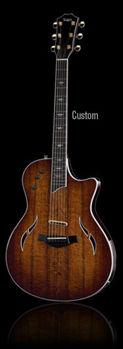 Picture of Guitare Electrique et acoustique(hybride) TAYLOR T5-Custom C2 Table KOA + étui D/