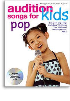 Image de AUDITION SONGS FOR KIDS POP +CD Gratuit