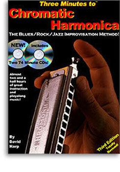 Image de METHODE IMPROVISATION Blues/Rock/Jazz CHROMATIC Harmonica +3CD Gratuits