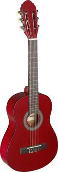 Picture of Guitare Classique 1/4 Tilleul Mat Rouge