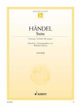 Picture of HAENDEL SUITE EN RE Mineur HWV437 Piano