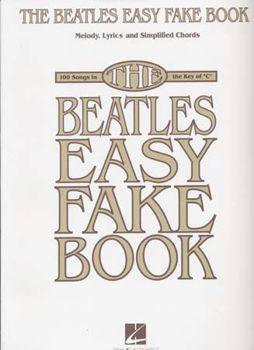 Picture of BEATLES EASY FAKE BOOK 100SONGS