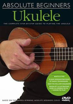 Picture of ABSOLUTE BEGINNERS UKULELE DVD (francais)