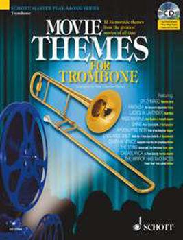 Image de MOVIE THEMES Trombone +CD gratuit