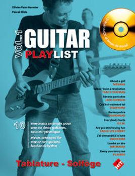 Picture of GUITAR PLAYLIST V1 +CD Gratuit