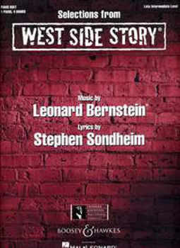 Picture of BERNSTEIN Selections FROM WEST SIDE STORY Piano 4 mains