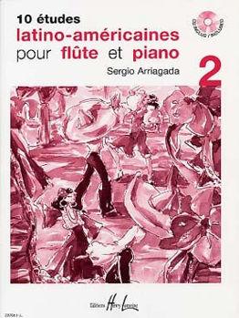 Image de ARRIAGADA  ETUDES LATINO V2 + CDgratuit Flute traversiere et piano