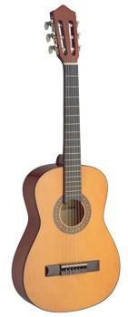 Image de Guitare Classique 1/2 tilleul naturel convient à l'enfant