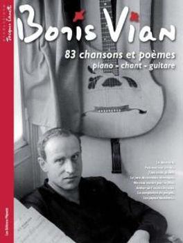 Image de VIAN BORIS 83 CHANSONS ET POEMES Piano Voix Guitare