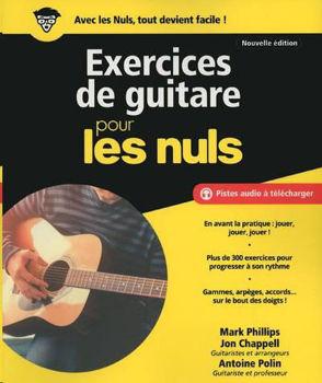 Picture of POUR LES NULS EXERCICES DE GUITARE Nouvelle Edition + Pistes audios à télécharger