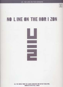 Picture of U2 NO LINE ON THE HORIZON TAB Guitare