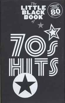 Picture of LITTLE BLACK BOOK OF 70'S HITS