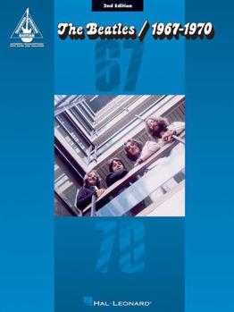 Image de BEATLES 1967/1970 Guitare Tablature BLEU