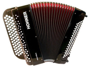 Picture of Accordeon Chromatique HOHNER NOVA II 80 basses noir+housse