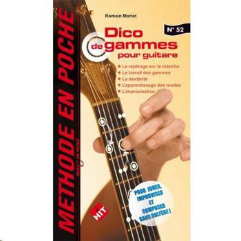 Picture of DICO GAMMES MUSICENPOCHE Guitare