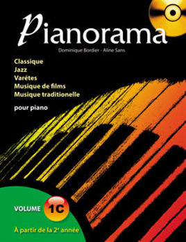 Picture of PIANORAMA V1C +CD gratuit Piano