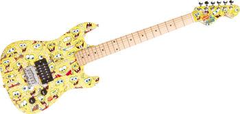 Picture of Guitare Electrique BOB L'EPONGE PACK