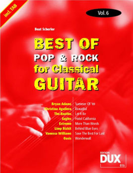 Image de BEST OF POP ROCK CLASSIC V6 Guitare Classique
