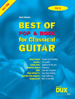 Image de BEST OF POP ROCK CLASS V8 Guitare Classique