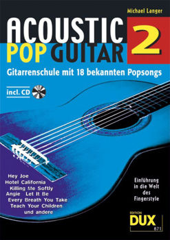 Picture of ACOUSTIC POP GUITAR V2 Guitare +CD Gratuit
