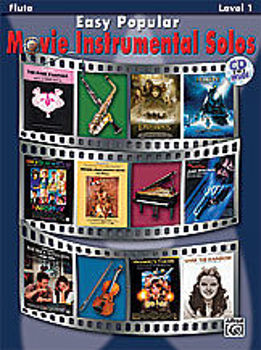 Image de EASY POPULAR MOVIE INSTRUMENTAL Flute Traversière Solos +CD Gratuit